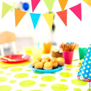 Guirlande de fanions décoration anniversaire