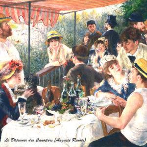 Le canotier pique-nique vu par Renoir