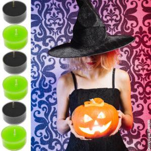 bougies chauffe-plat halloween : les accessoires de la fête
