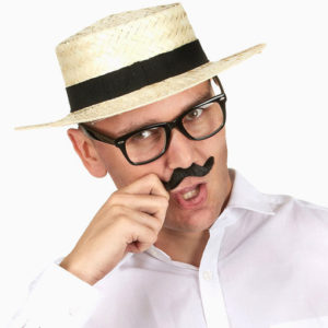 chapeau canotier pique-nique style rétro