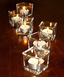 Mini photophores cubes (lot de 6)