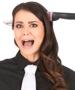 serre-tête couteau : un accessoire de déguismeent effrayant pour halloween