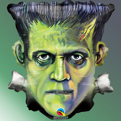 ballon halloween Frankenstein en aluminium