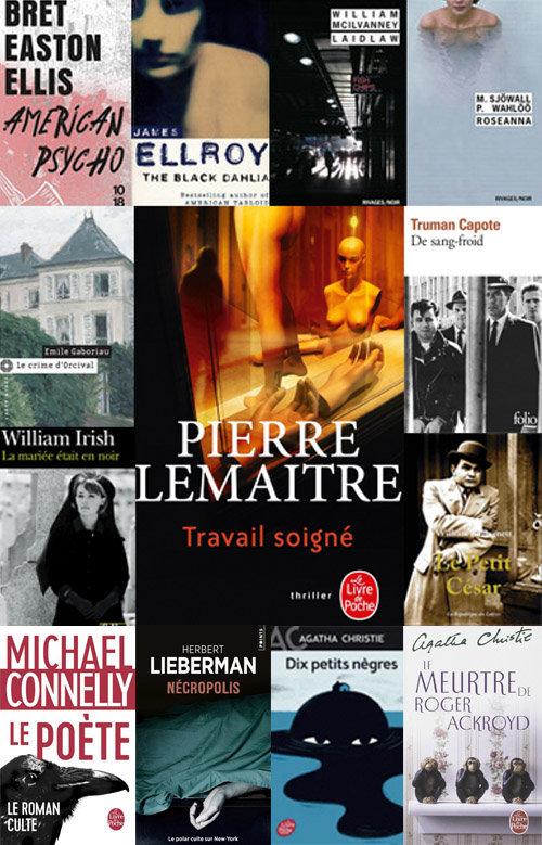 Travail soigné : la bibliothèque polar idéale de Pierre LEMAITRE