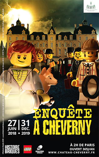 Expo Lego 2018 Enquête à Cheverny
