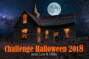 Challenge Halloween 2018 : logo maison hantée