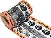 Accessoires déco à thème fantôme : masking tape motifs halloween