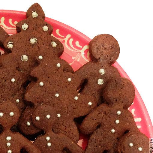 Brownies-biscuits : Joyeux Noël !