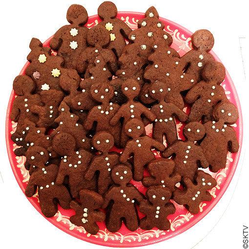 Brownies-biscuits : pour une cinquantaine de pièces