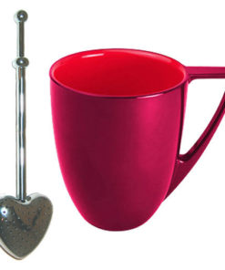 Mug et cuiller à thé Valentine