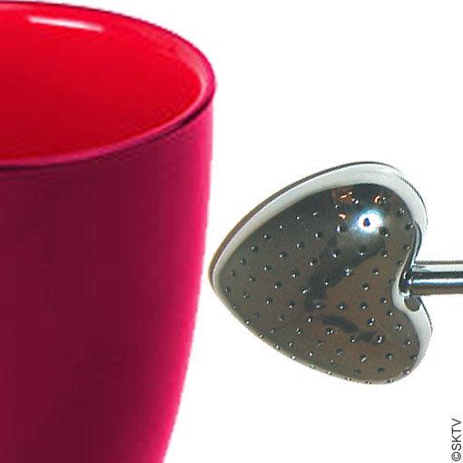Un ensemble mug et cuiller à thé pour la St Valentin