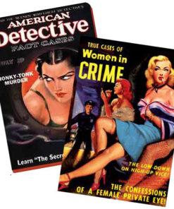 Carnet rétro Pulp fiction