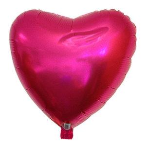 Ballon alu St Valentin rose