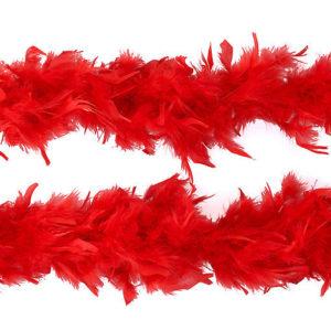Boa cabaret rouge 180cm