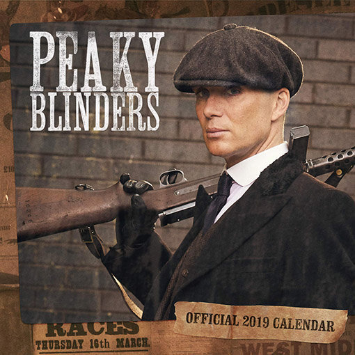 Calendriers séries 2019 : enfin le calendrier photo de Peaky Blinders !