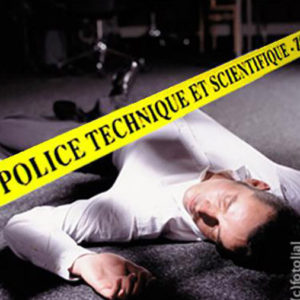 Ruban de scène de crime Police technique et scientifique Zone interdite