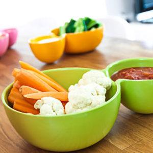 saladier dip en mélamine alimentaire