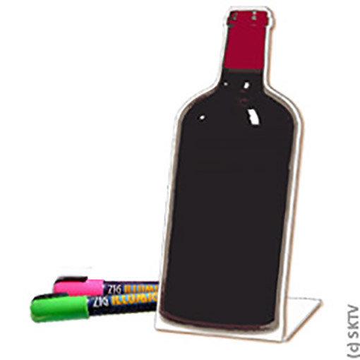 Ardoise carte des vins pour l'apéritif ou le bar