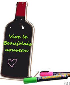 Ardoise carte des vins à poser