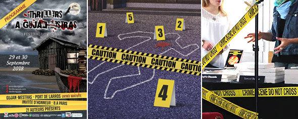 Ruban Scène de Crime : utilisation en décoration festival polar, escape games et murder parties