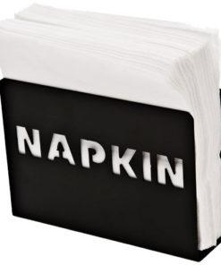 Distributeur de serviettes en métal découpé
