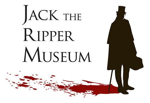 Musée Jack l'Eventreur de Londres : logo avec silhouette Jack