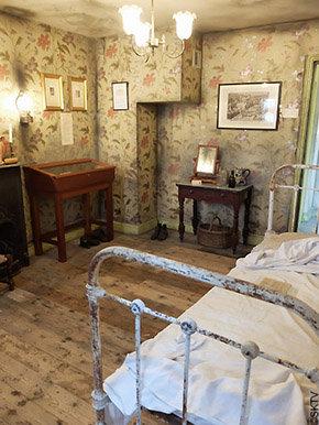 Jack the Ripper Museum : chambre de la victime