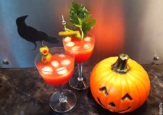Pics apéro halloween : comment décorer vos Bloody Mary...