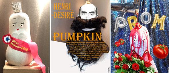 De la citrouille peinte à la création de personnages d'halloween...