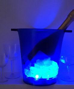 seau à champagne led éclairé