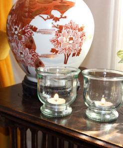 Photophore tulipepour la décoration du salon
