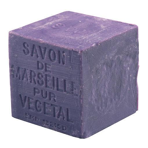 Savon de Marseille lavande forme cube