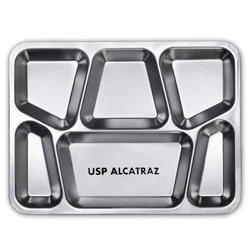 Recettes d'Alcatraz : plateau de prisonnier à compartiments