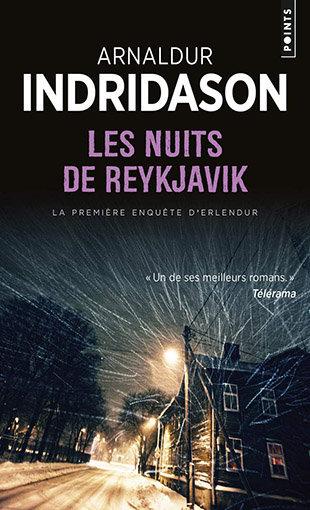 Les Nuits de Reykjavik : couverture du livre
