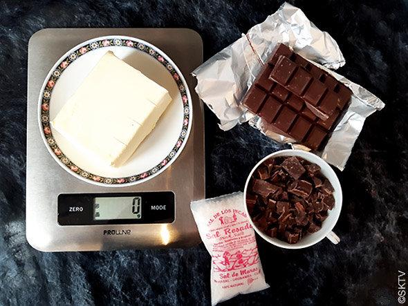 Cookies au café : beurre, chocolat noir et cristaux de sel