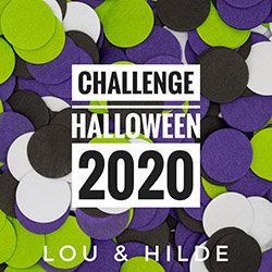 Logo Challenge Halloween 2020 avec Lou & Hilde