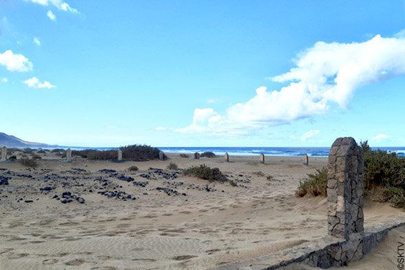 Cimetière marin de Cofete : entre ciel et mer