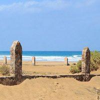 Le Cimetière marin de Cofete, à Fuerteventura…