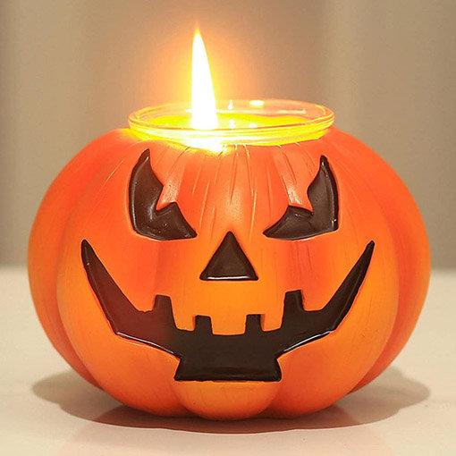 éclairage halloween : icone photophore en forme de citrouille